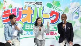 「那須さんの失敗には、品がありますね」 《垣花アナ×那須アナ×上柳アナ・ラジオパークトークショー》