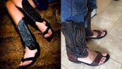 夏でも蒸れることなく涼しくブーツを履くことができる「ブーツサンダル」 【本仮屋ユイカ 笑顔のココロエ】