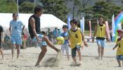アクロバチックなゴールで、気分はネイマール!~ ビーチサッカー ~