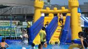 真夏の豊洲にアミューズメントパークが出現!?