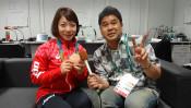 応援の熱気が後押ししてくれました!重量挙げ女子48キロ級・銅メダル獲得  三宅宏実選手(30歳)インタビュー!