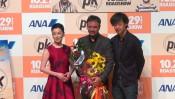 壇れい、山崎貴監督も大絶賛のインド映画とは…。『PK』ジャパンプレミア しゃベルシネマ【第45回】