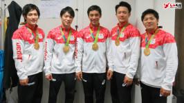 「世界一メンタルが強いチームじゃないかなと思います。」山室、加藤、内村、白井、田中 5選手インタビュー《リオデジャネイロ五輪・体操男子団体金メダリスト》