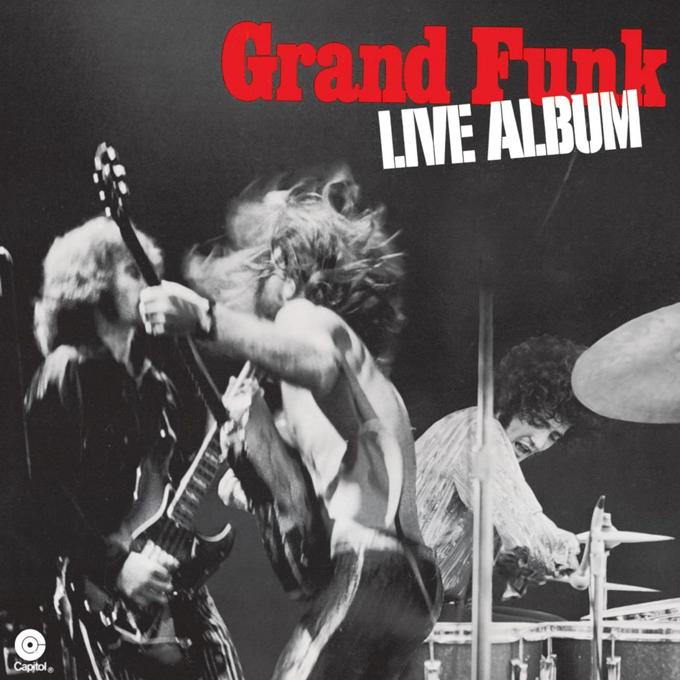 グランド・ファンク・レイルロード,GRAND FUNK RAILROAD,LIVE ALBUM