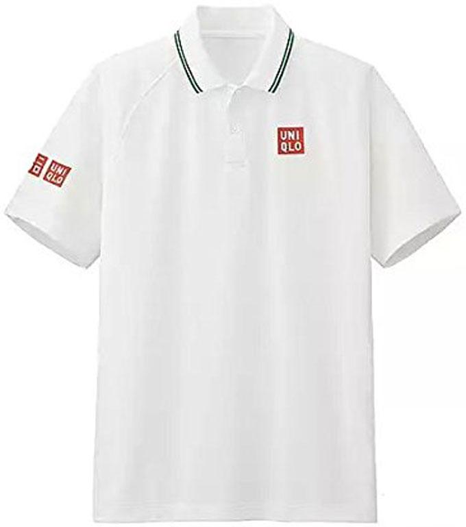 ユニクロ MEN NK ドライEXポロシャツ (半袖) (錦織 圭・2016年全英オープンモデル)