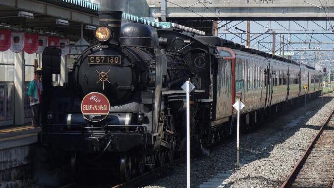 会津若松駅,「SLばんえつ物語号」
