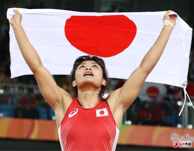 リオ五輪,レスリング女子58kg級金メダリスト,伊調馨