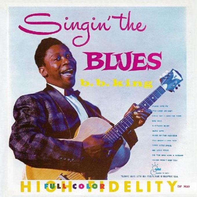 B.B.キング,Singin'-the-Blues