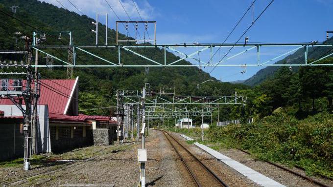 土合駅上りホーム