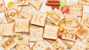 パンに好きな言葉や絵を描くことができるトースター「Toasteroid(トースターロイド)」 【本仮屋ユイカ 笑顔のココロエ】