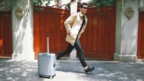自動的に走って持ち主を追いかける!?スーツケース「COWAROBOT R1」【本仮屋ユイカ 笑顔のココロエ】
