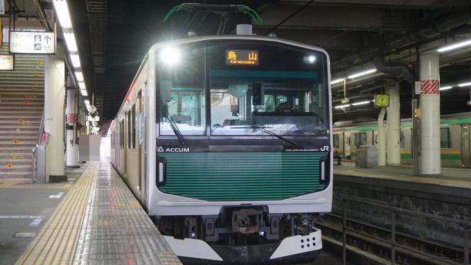 烏山線EV-E301系