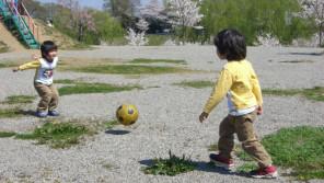 ボール遊びができる公園を作ろう! 【ひでたけのやじうま好奇心】