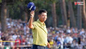 疲れた。きっとサイン疲れかなぁ。5,000枚はしたから…。男子ゴルフ・松山英樹(24歳) スポーツ人間模様