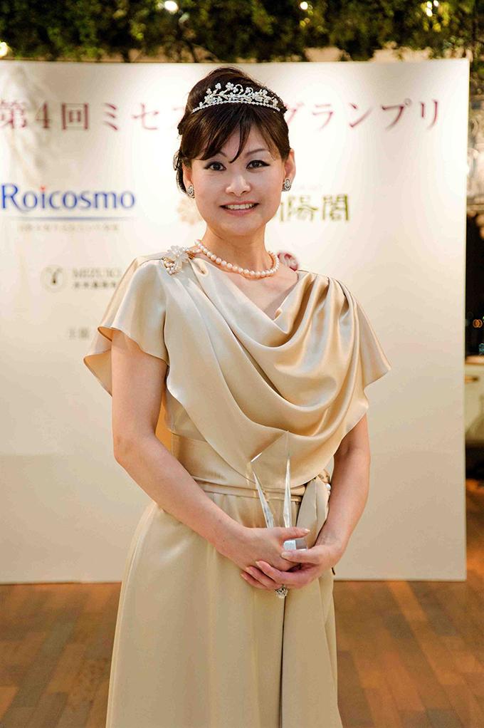 ミセス日本グランプリに!