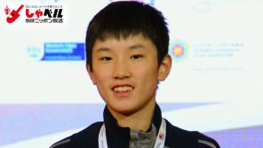 世界ジュニアで最年少優勝「東京でメダルを獲る!」卓球男子・張本智和(13歳)スポーツ人間模様