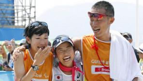 「チーム道下」で獲った銀メダル。選手とガイドランナーの42.195キロ【10時のグッとストーリー】