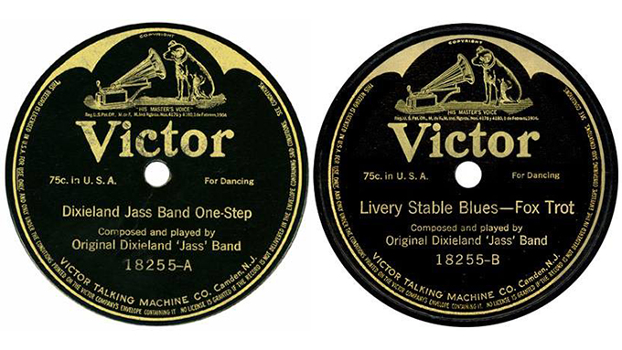 「Dixie-Jass-Band-One-Step」「Livery-Stable-Blues」