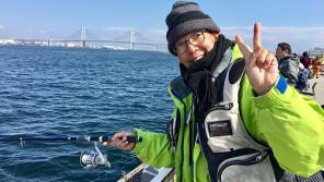 松本秀夫アナがボウズに?!横浜港大さん橋・初の釣りイベントに密着!