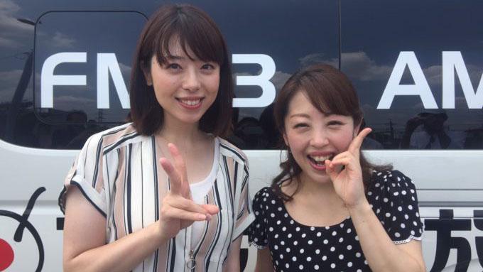 【中継コーナー♪】きょうは演歌歌手の山口ひろみさんとお送りしました!