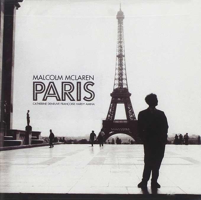 MALCOM MCLAREN,PARIS