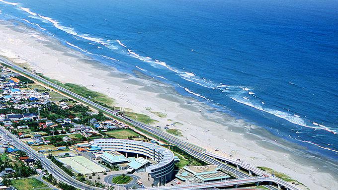 九十九里浜、本当は十六里ちょっとの浜?