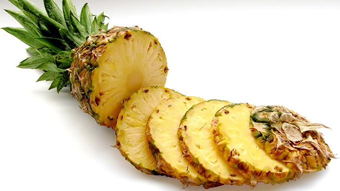 パイナップルは美肌効果抜群!