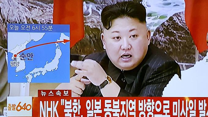 北朝鮮から弾道ミサイル発射~先月29日と発射場所も軌道も近似
