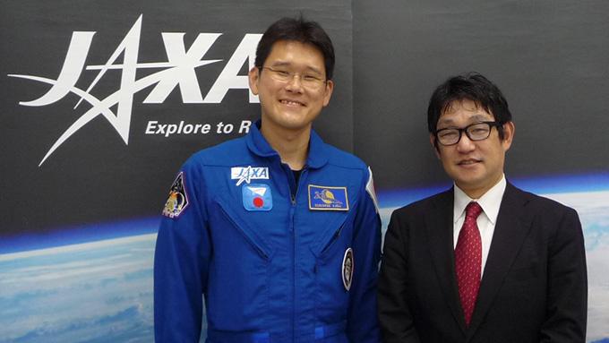 4か月後に宇宙へ!金井宣茂宇宙飛行士、単独インタビュー