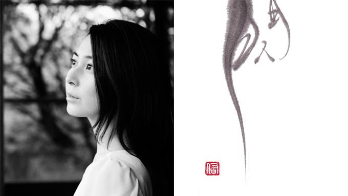 「すぎる」は言いすぎじゃない!美人すぎる書家、岡西佑奈