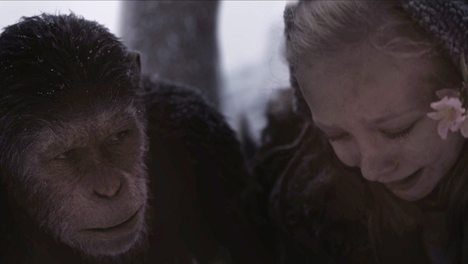 猿と人類、最終局面!『猿の惑星:聖戦記(グレート・ウォー)』