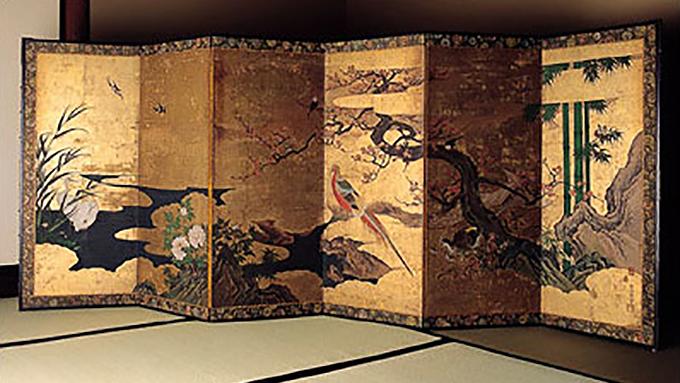 日本の文化 衝立&屏風の違い