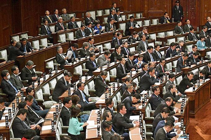 衆院本会議場 国会