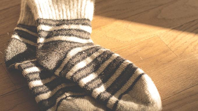 靴下のプロが教える 靴下でできる気分転換