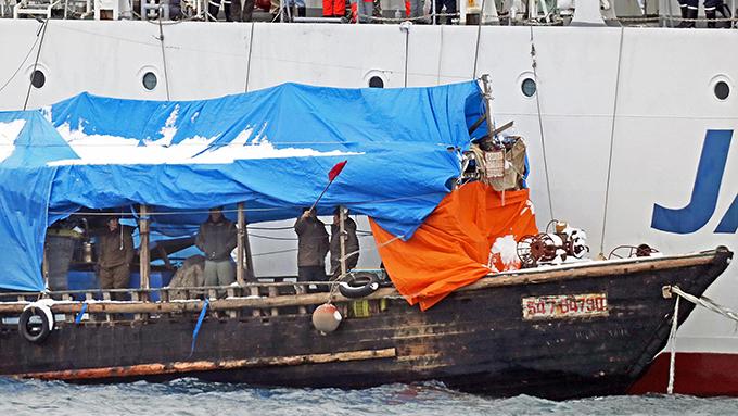 北朝鮮木造船漂着~漁民の中に諜報員はいるのか?