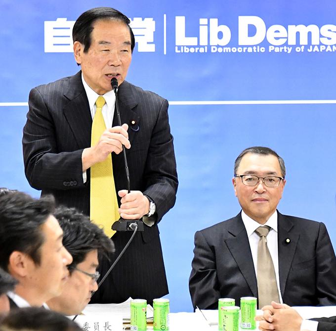 自民党 税制調査会 小委員会 額賀福志郎 宮沢洋一