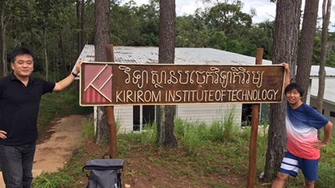 カンボジアで50年にもおよぶ学園都市構想に挑む日本人