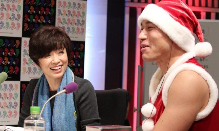 ニッポン放送ではお馴染みの榊原郁恵さんもスタジオに駆けつけて下さいました!