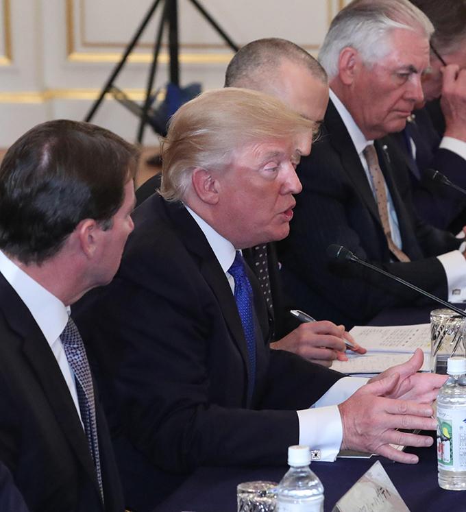 トランプ 日米首脳会談