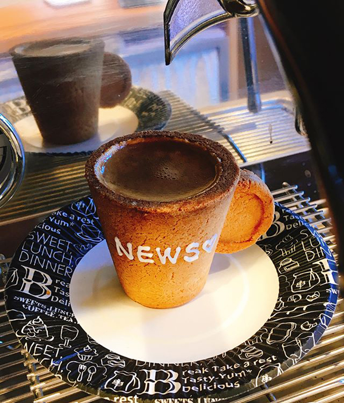 コーヒー 淹れたて 河西新聞店 ニュース
