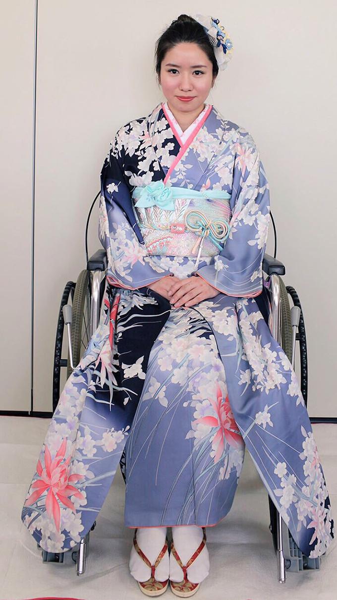 明日櫻 グッドデザイン賞 車椅子 車いす 車イス 着物 着付け