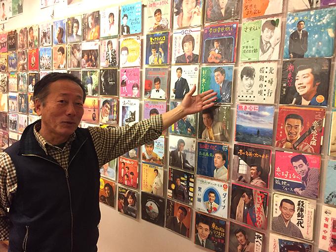 昭和歌謡 レコード展