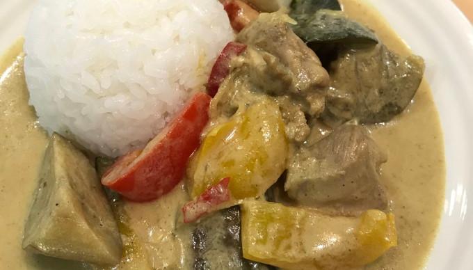 20分でできる本格アジア風カレーを八木亜希子に伝授