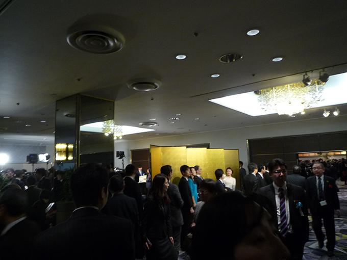 経済三団体 新年パーティ