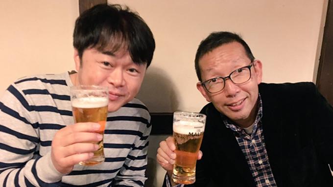 松本アナ&荘口 初の飲み交わし!
