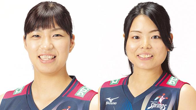 スプリングス・座安琴希選手と森谷史佳選手がもしも姉妹だったら?!