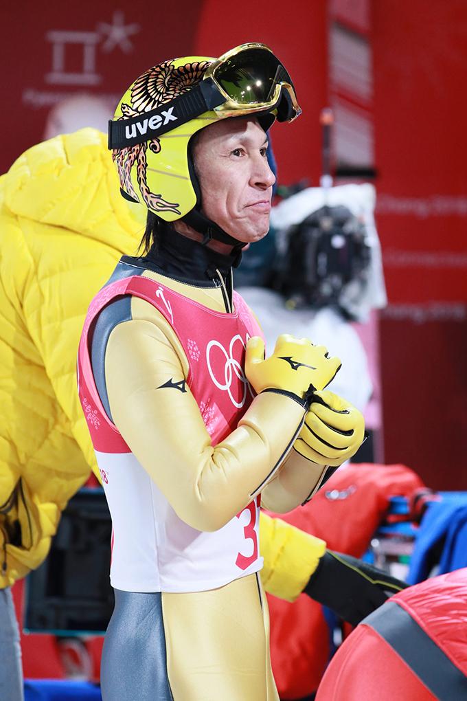 葛西紀明 平昌 五輪 スキージャンプ 男子 ノーマルヒル 予選