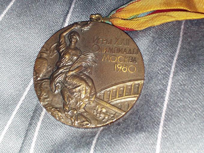 銅メダル モスクワ オリンピック