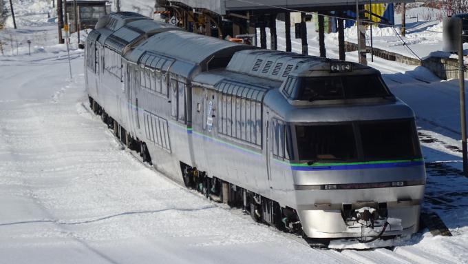 キハ183系 クリスタルエクスプレス 釧網本線 知床斜里駅