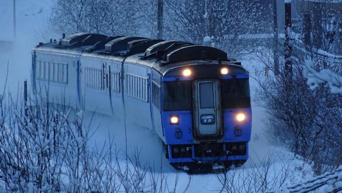 キハ183系 特急「大雪」 石北本線 網走 呼人